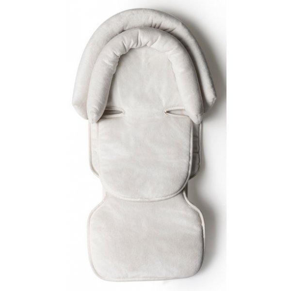 Mima Kojenecká vložka s opěrkou hlavy do židličky Moon Bílá