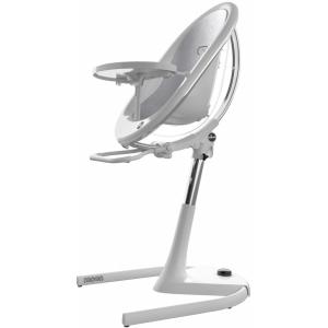 Mima Židlička Moon 2G  + opěrka nohou Chrom / průhledná