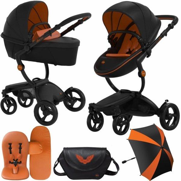Mima Xari kočárek REBEL 2019 Black Orange